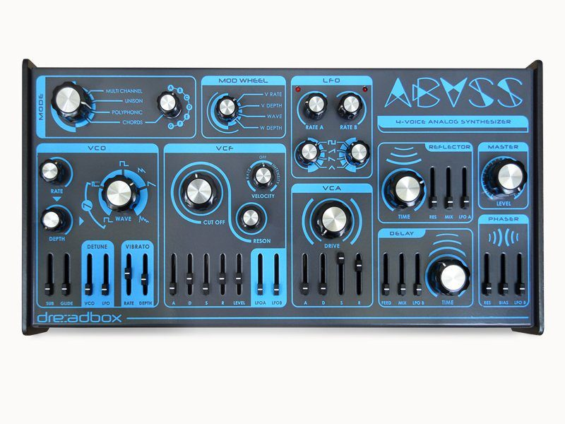 Dreadbox Abyss Front