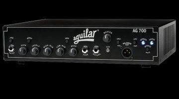 Aguilar AG700 Topteil Amp Bass Front