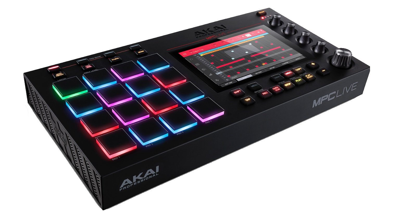 Akai Professional MPC Live Standalone Sampler HiRes Seite