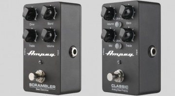 Ampeg Scrambler Classic Bass Preamp Pedale Front Seite