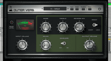 AudioThing Outer Verb - virtuelle RE-201 Emulation ohne Tape Delay
