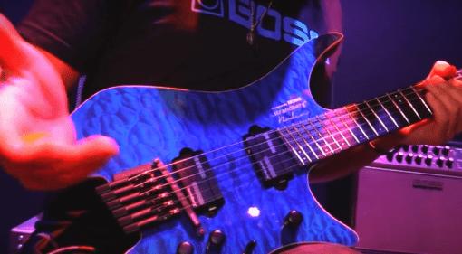 Boss Strandberg V Guitar Prototyp Front