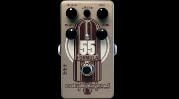 Catalinbread Formula No 55 Pedal Tweed 5E3 Overdrive Front Titel