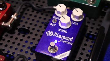 Diamond Fuzz Octave F-Octave Pedal Front Prototyp