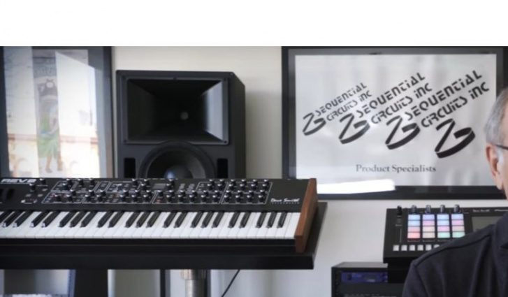 dsi prophet 08 rev 2 analog synthesizer