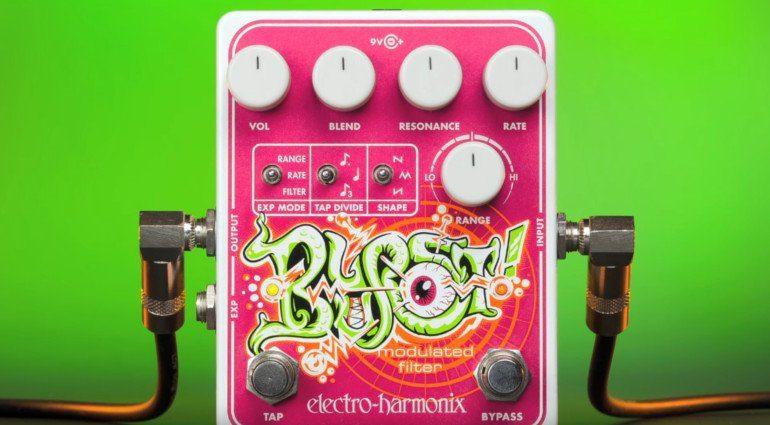 Electro HArmonix EHX Blurst Modulation Filter Pedal Front