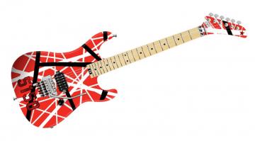 EVH 5150 Striped E-Gitarre Friont