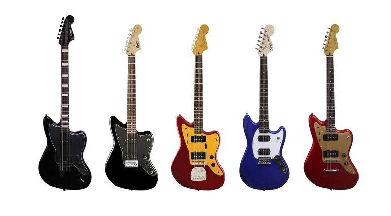 Fender Squier Offset 2017 Lineup Collection Jazzmaster Jaguar Mustang Bariton Front