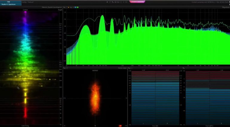 Flux Pure Analyzer Studio Session PLug-in Freeware FX Effekt GUI Logic