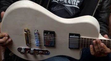 Framus The Plank Telecaster Broadcaster Humbucker Front Prototyp