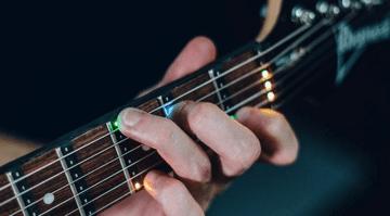 Fret Zeppelin LED Gitarre lernen Kick Starter