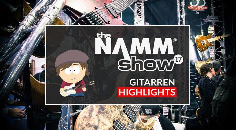 Gearnews DE NAMM Auswertung Gitarre Bass Recording Synth Claudius