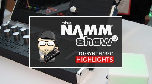 Gearnews de NAMM HIghlights Synthesizer Recording DJ Software Marcus V2