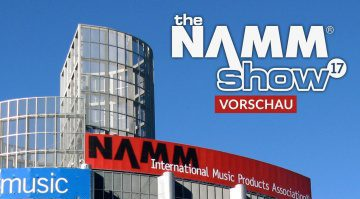 Gearnews NAMM 2017 Preview Vorschau Titelbild