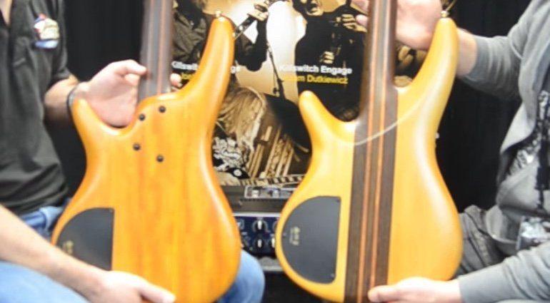 Ibanez SR1200 SR1400T E-Bass Rueckseite Back Sound Vergleich