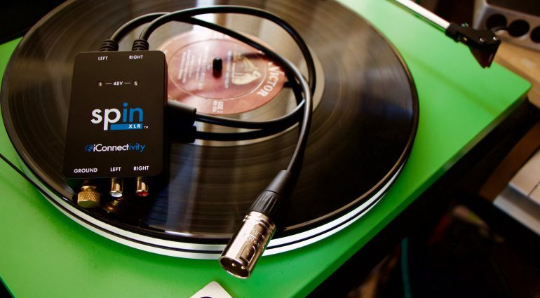iConnectivity spinXLR Turntable