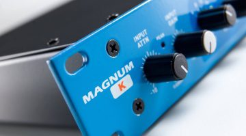 Maag Audio Magnum-K Kompressor Hardware Rack Front Close Titel