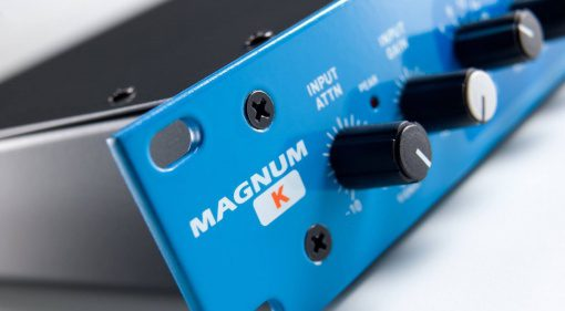 Maag Audio Magnum-K Kompressor Hardware Rack Front Close Titel