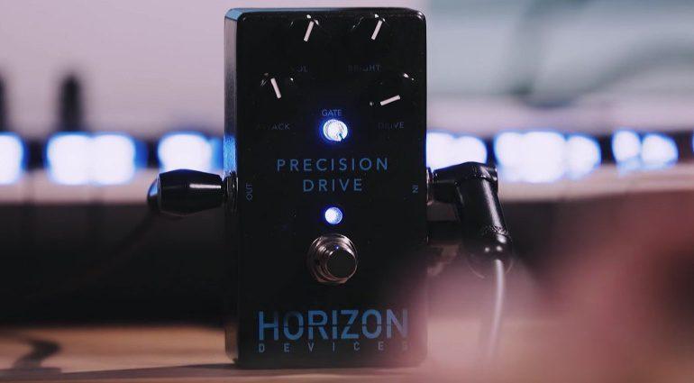 Misha Mansoor Horizon Devices MXR Precision Drive Pedal Front