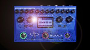 Mooer Ocean Machine Devin Townsend Signature Reverb Delay Looper Pedal Effekt Front