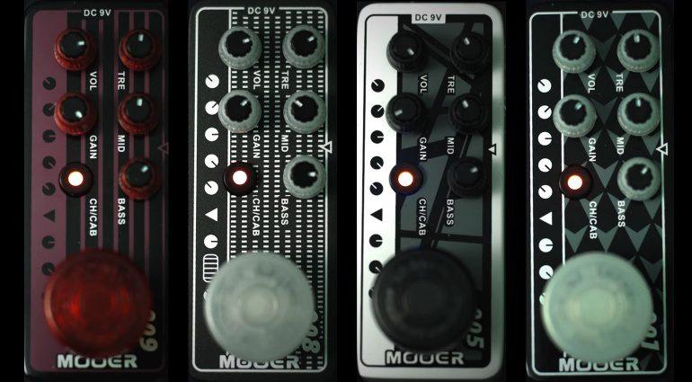 Mooer Preamp Pedals Front ENGL Mesa Boogie EVH Diezel