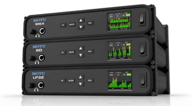 NAMM 2017: MOTU stellt drei neue Audiointerfaces vor