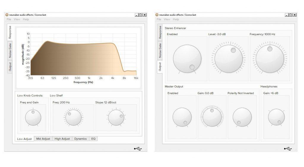 Neunhaber Iconoclast Software Preferences Einstellungen GUI