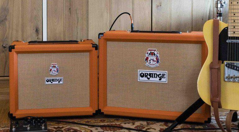 Orange Rocker 15 Rocker 32 Combo Amp Verstaerker Front Telecaster