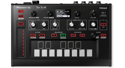 Pioneer DJ TORAIZ AS-1 - monophoner DJ-Synthesizer von Dave Smith Instruments
