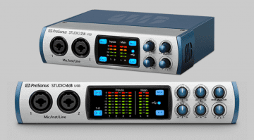 NAMM 2017: PreSonus zeigt Studio 26 und Studio 68 USB Audiointerfaces