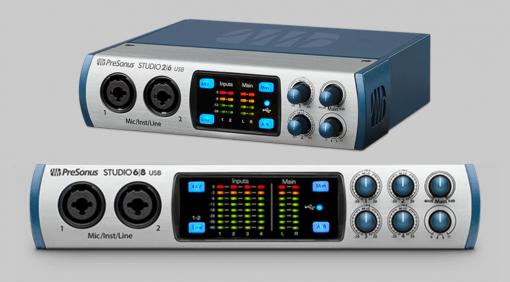 NAMM 2017: PreSonus zeigt Studio 26 und Studio 68 USB Audiointerfaces