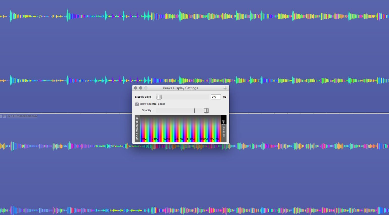 Reaper 5.32 Spectral Peaks 3