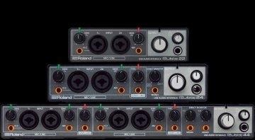 Roland Rubix22 Rubix24 Rubix44 USB Audio Interfaces Front