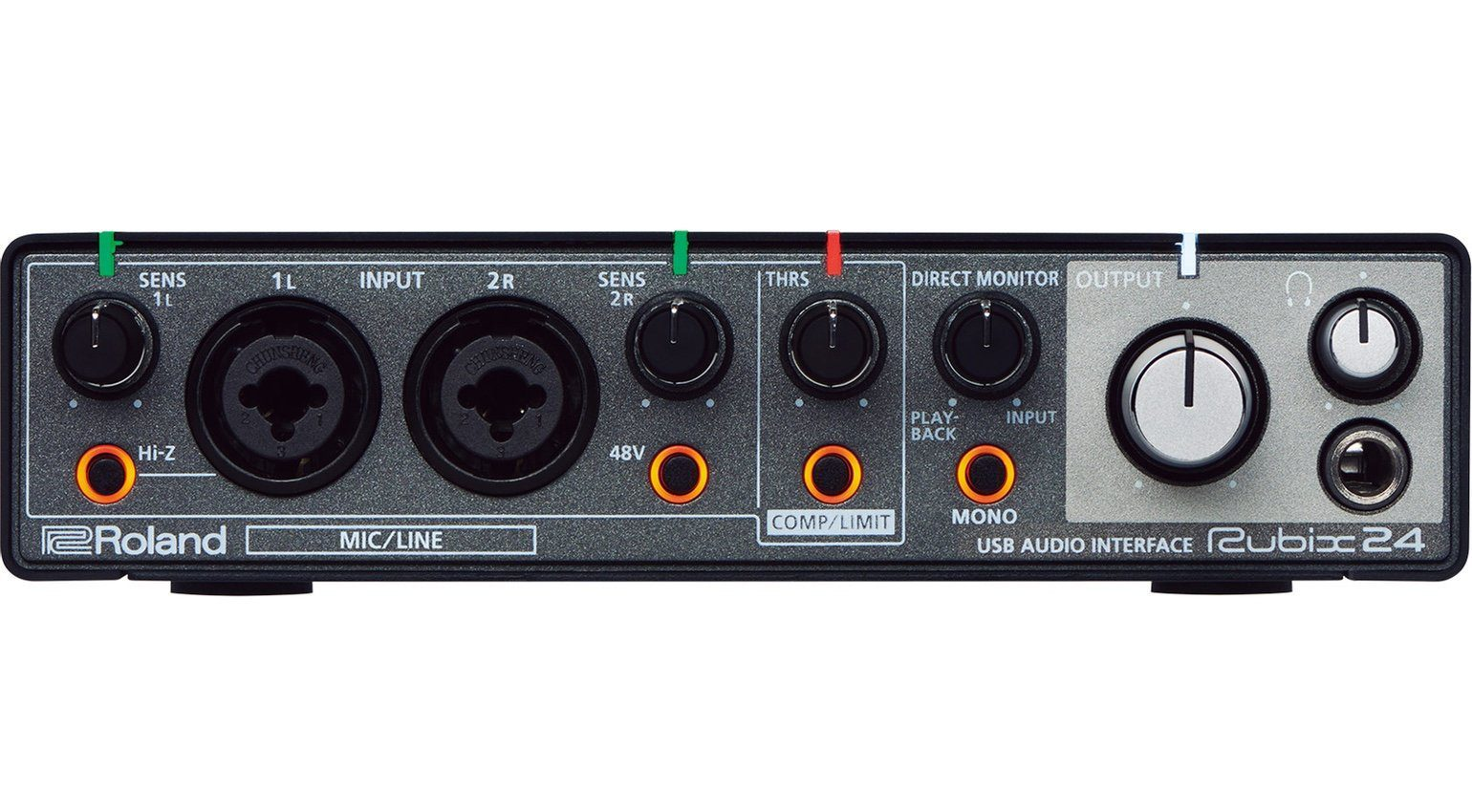 Roland Rubix24 USB Audio Interface Front