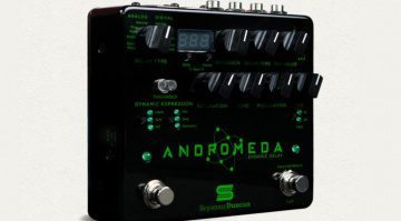 Seymour Duncan Andromeda Digital Delay Pedal Front