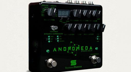 Seymour Duncan Andromeda Digital Delay Pedal Front