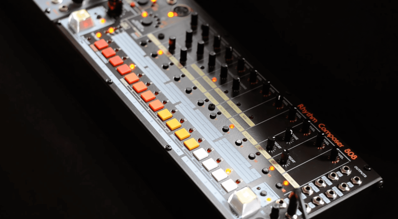Roland TR-808 von System80 für Eurorack angekündigt!