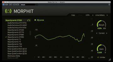 Toneboosters Morphit Plug-in GUI Cubase