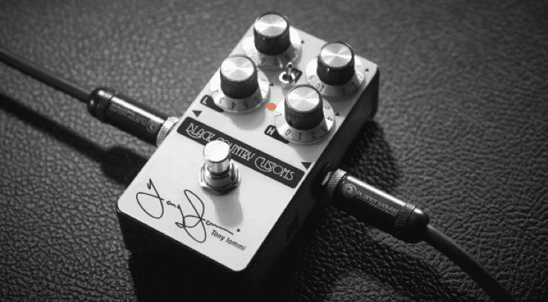 Tony Iommy TI Boost Pedal Front