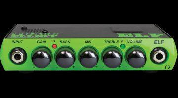 Trace Elliot Elf Bass Mini Amp Front Titel
