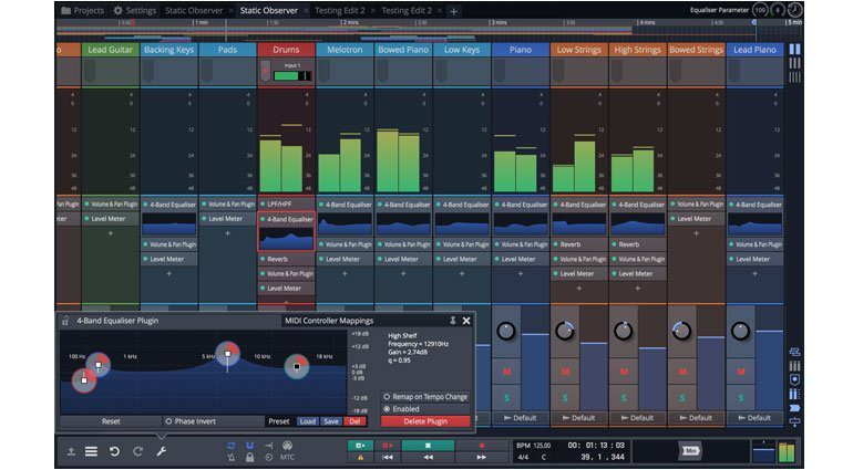 Tracktion Waveform GUI 2