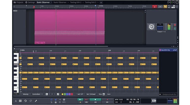 Tracktion Waveform GUI 1