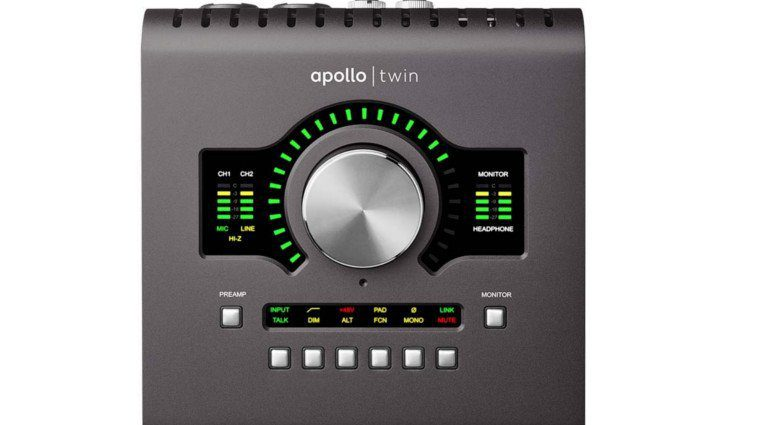 Universal Audio UAD Apollo Twin Solo Duo Quad DSP Audiointerface Front