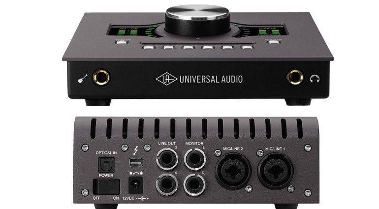 Universal Audio UAD Apollo Twin Solo Duo Quad DSP Audiointerface Stirn Rueckseite