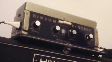Vintage Binson Echorec Delay Echo Effekt Front