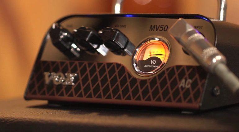 Vox MV50 AC AC30 Mini Amp Topteil Front