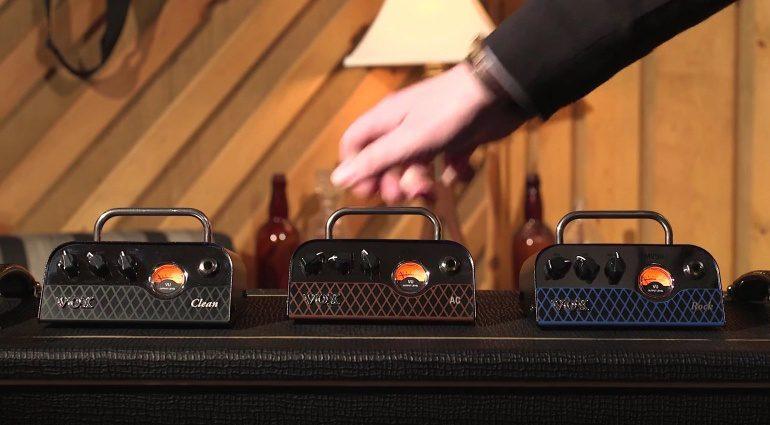 Vox MV50 NuTube Amps Verstaerker AC30 Clean Rock Topteile Front