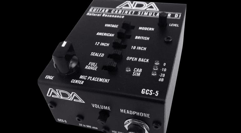 ADA GCS 5 Guitar Cabinet Simulator