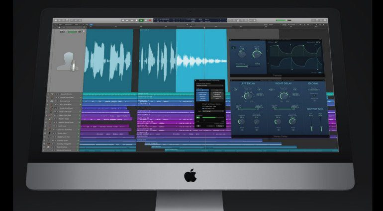 Apple Logic Pro X GUI