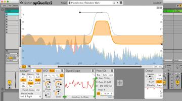 apulSoft apQualizr2 - das modulare Equalizer Plug-in